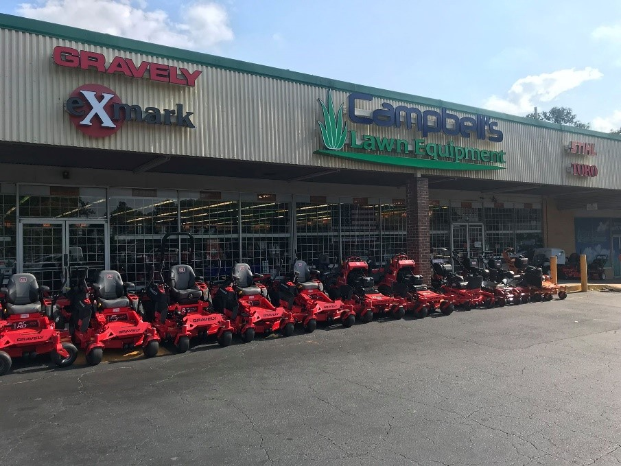Campbell's Lawn Equipment Storefront